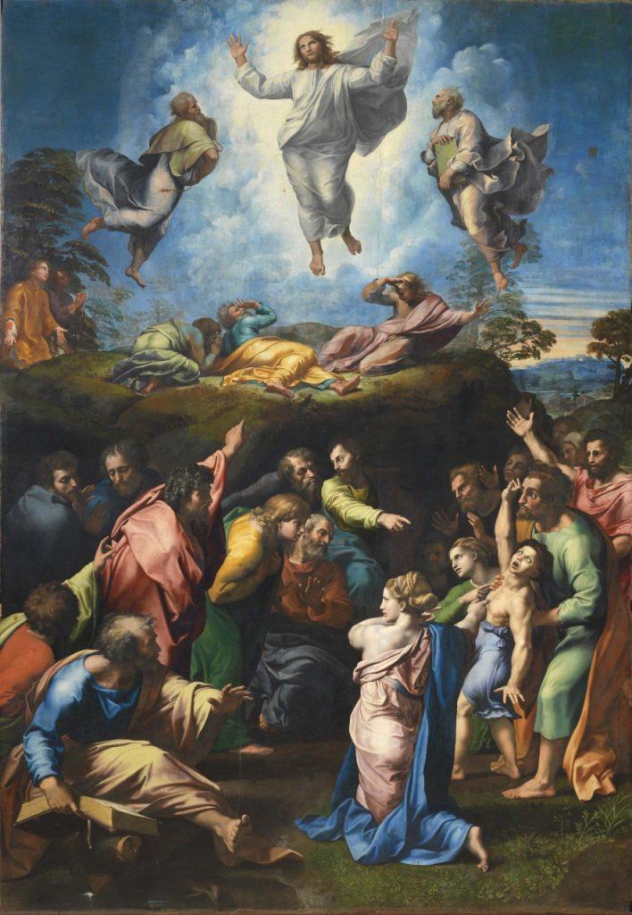 ラファエロ『キリストの変容』