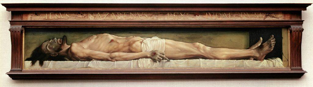 『墓の中の死せるキリスト』