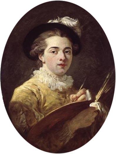 ジャン・オノレ・フラゴナールの肖像画